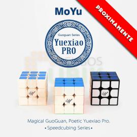 Cubos Rubik Moyu GuoGuan YueXiao PRO 3x3 Colored