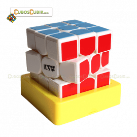 Cubos Rubik Moyu SenHuan 3x3 ZhanShen Mars Base Blanca