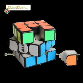 Cubos Rubik Moyu SenHuan 3x3 ZhanShen Mars Base Negro Milk
