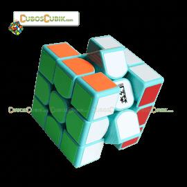 Cubos Rubik Moyu SenHuan 3x3 ZhanShen Mars Base Verde