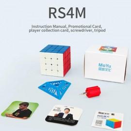 Cubos Rubik Moyu RS4 M 2020 4x4Colored