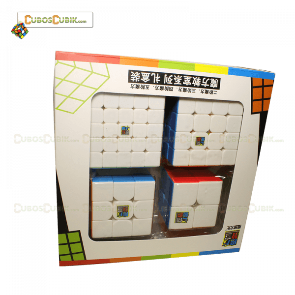 Cubos Rubik Paquete MoYu Gift Box Colored