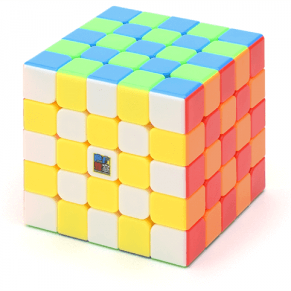 Cubos Rubik Moyu MoFangJiaoShi MF5 s 5x5 Colored
