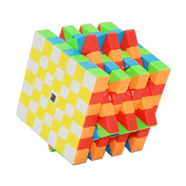 Cubos Rubik Moyu MoFangJiaoShi MF7s 7x7 Colored