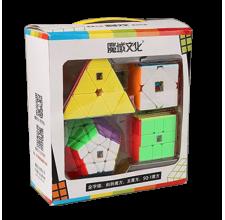Cubos Rubik MoYu Oficial Irregular Gift Box Colored