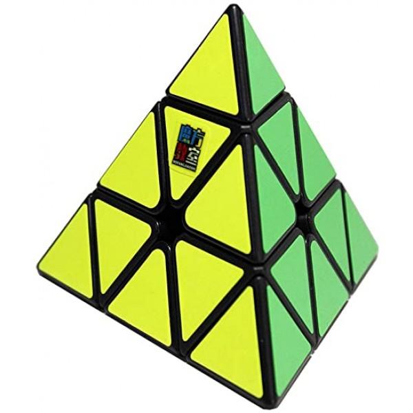 Cubos Rubik Moyu Meilong Pyraminx Negro