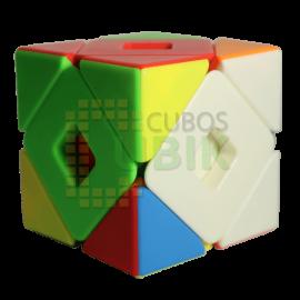 Cubos Rubik Moyu Meilong Dual Skewb Colored