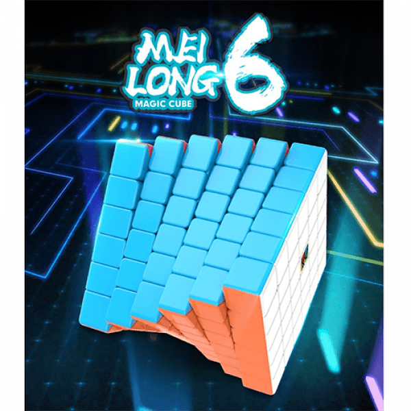 Cubos Rubik Moyu Meilong 6x6 Colored