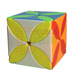 Cubos Rubik Moyu Meilong Clover Colored