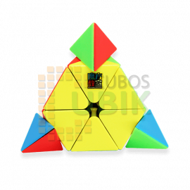 Cubos Rubik Moyu Meilong Pyraminx Colored