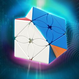 Cubos Rubik Moyu Meilong Maple Leaves Skewb