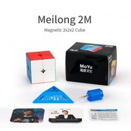 Cubos Rubik Moyu Meilong 2x2 Magnético Colored