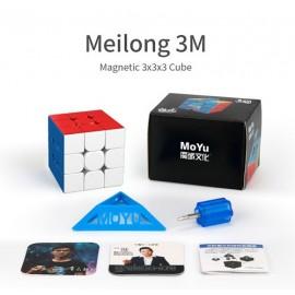 Cubos Rubik Moyu Meilong 3x3 Magnético Colored