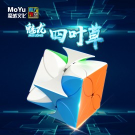 Cubos Rubik Moyu Meilong Clover Colored