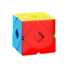 Cubos Rubik Moyu Meilong  Dual Skewb Colored