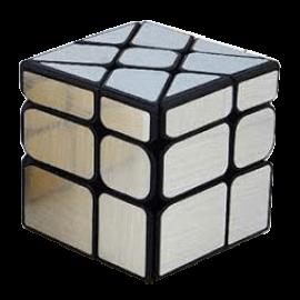Cubos Rubik Moyu Classroom Wind Mirror Plata