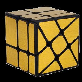 Cubos Rubik Moyu Classroom Wind Mirror Dorado