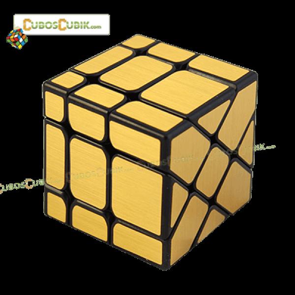 Cubos Rubik Moyu Classroom Fisher Mirror Dorado