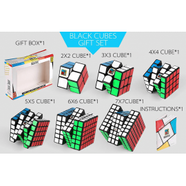 Cubos Rubik Moyu Classroom WCA NxN Gift Box Negro