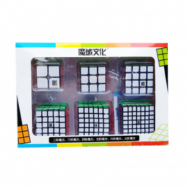 Cubos Rubik Moyu Classroom WCA NxN Gift Box ColoredNegro