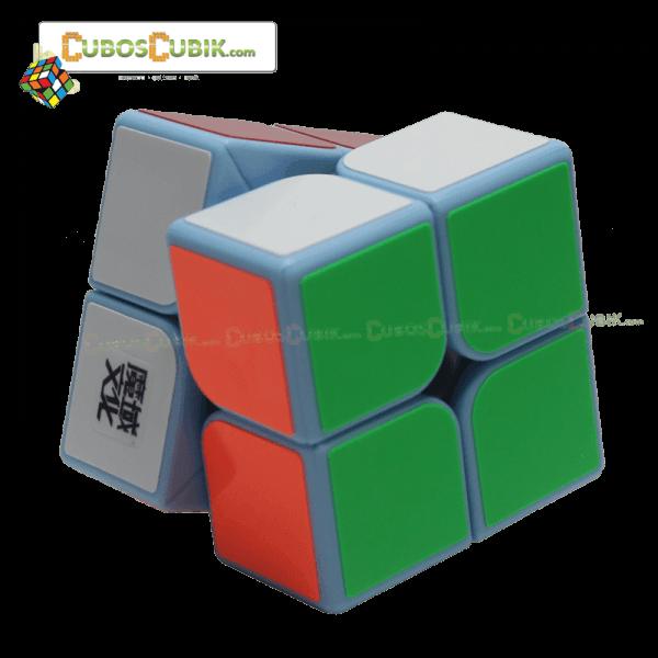 Cubos Rubik Moyu Weipo 2x2 Base Azul