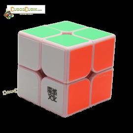 Cubos Rubik Moyu Weipo 2x2 Base Rosa