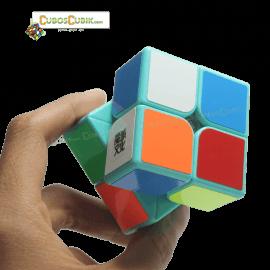Cubos Rubik Moyu Weipo 2x2 Base Verde