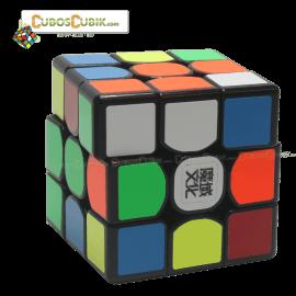 Cubos Rubik Moyu Weilong GTS 3x3 Base Negra