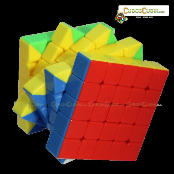 Cubos Rubik Moyu BoChuang 5x5 Base Colored