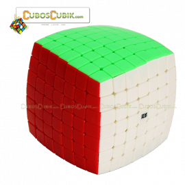 Cubos Rubik Moyu Aofu 7x7 Colored