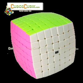 Cubos Rubik Moyu Aofu 7x7 Base Candy Colors