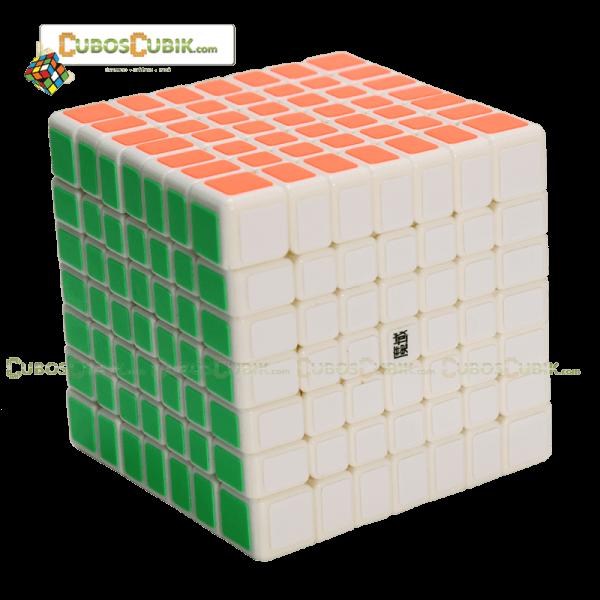 Cubos Rubik Moyu Aofu Flat 7x7 Base Blanca