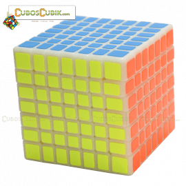 Cubos Rubik Moyu Aofu Flat 7x7 Base Milk