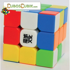 Cubos Rubik Moyu 3x3 Aolong Mini 54.5mm Colored Plus