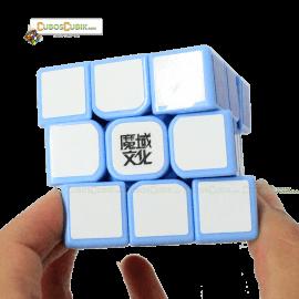 Cubos Rubik Moyu 3x3 Aolong GT Base Azul