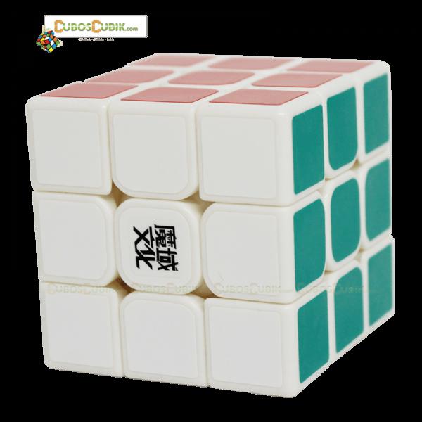 Cubos Rubik Moyu 3x3 Aolong GT Base Blanca