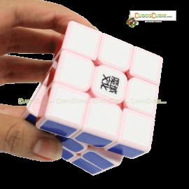 Cubos Rubik Moyu 3x3 Aolong GT Base Pink