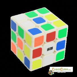 Cubos Rubik Moyu  3x3 Aolong Mini 54.5mm Base Blanca Plus