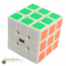 Cubos Rubik Moyu  3x3 Aolong Mini 54.5mm Base Blanca Plus