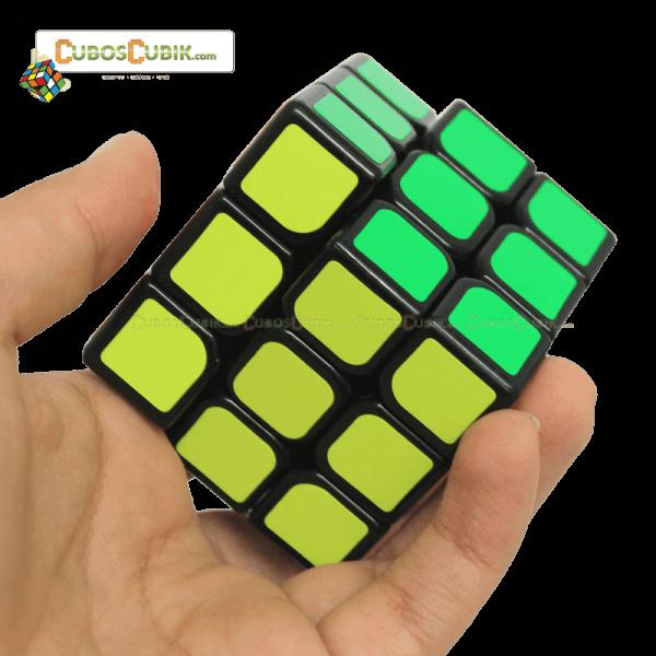Cubos Rubik Moyu 3x3 Aolong Mini 54.5mm Base Negra