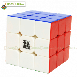 Cubos Rubik Moyu 3x3 Aolong V2 Colored Plus