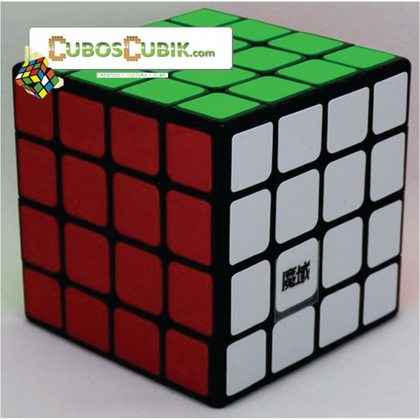 Cubos Rubik Moyu AoSu 60mm Mini 4x4 Base Negro