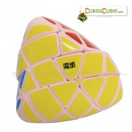 Cubos Rubik Moyu AoSu MegaMorphix 4x4 Base Rosa