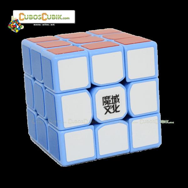 Cubos Rubik Moyu 3x3 Tanglong Base Azul