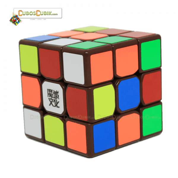 Cubos Rubik Moyu 3x3 Tanglong Base Café