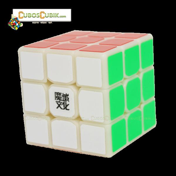 Cubos Rubik Moyu 3x3 Tanglong Base Milk