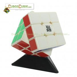 Cubos Rubik Moyu 3x3 Tanglong Base Blanca