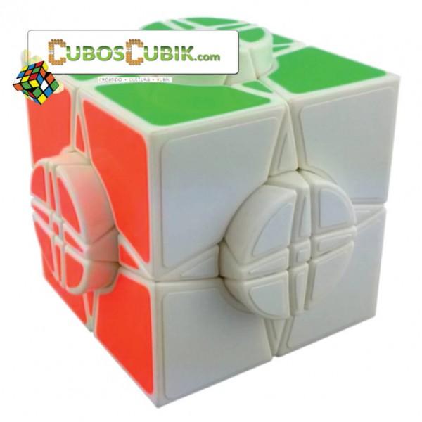 Cubos Rubik Moyu Time Round Base Blanca