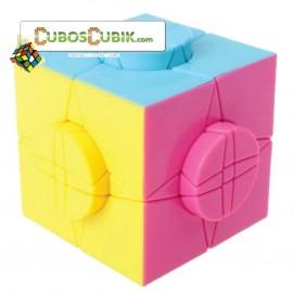 Cubos Rubik Moyu Time Round Pink