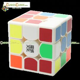 Cubos Rubik Moyu Weilong GTS 3x3 Base Blanca